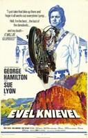 """Evel Knievel - 11"""" x 17"""""""