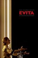 Evita Singing Fine Art Print