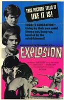 "Explosion - 11"" x 17"""
