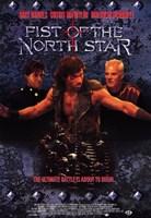 "Fist of the North Star - 11"" x 17"", FulcrumGallery.com brand"