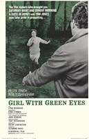 """Girl with Green Eyes - 11"""" x 17"""", FulcrumGallery.com brand"""