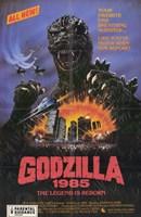Godzilla 1985 Fine Art Print