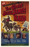 "Great Jesse James Raid - 11"" x 17"""