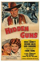 "Hidden Guns - 11"" x 17"" - $15.49"