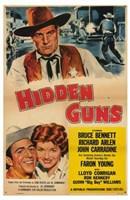 """Hidden Guns - 11"""" x 17"""""""