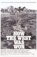 """How the West Was Won Film - 11"""" x 17"""""""