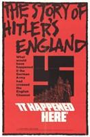 """it Happened Here - 11"""" x 17"""""""