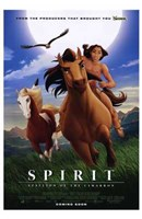 "Spirit: Stallion of the Cimarron - 11"" x 17"""