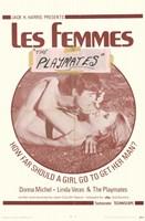 "Les Femmes - 11"" x 17"""