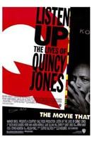 """Listen Up: the Lives of Quincy Jones - 11"""" x 17"""""""