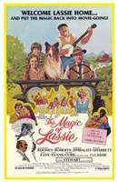 """The Magic of Lassie - 11"""" x 17"""" - $15.49"""