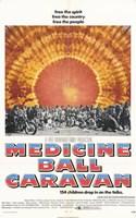 """Medicine Ball Caravan - 11"""" x 17"""""""