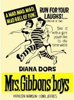 "Mrs Gibbons' Boys - 11"" x 17"""