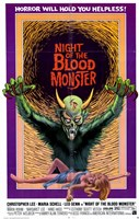 """Night of Blood Monster - 11"""" x 17"""""""