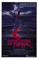 "Night Train to Terror - 11"" x 17"""