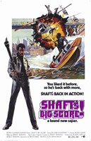 """Shaft's Big Score Back in Action - 11"""" x 17"""" - $15.49"""