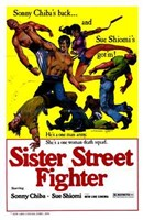 """Sister Streetfighter - 11"""" x 17"""""""