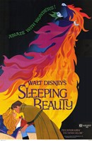 "Sleeping Beauty Ablaze with Wonders - 11"" x 17"""