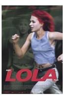 """Run Lola Run Action - 11"""" x 17"""""""