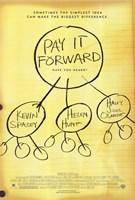 "Pay it Forward Helen Hunt - 11"" x 17"""