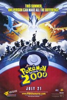 """Pokemon the Movie 2000: the Power of One - 11"""" x 17"""""""