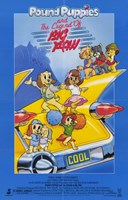 """Pound Puppies and Legend of Big Paw - 11"""" x 17"""""""