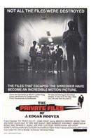 """The Private Files of J Edgar Hoover - 11"""" x 17"""""""