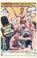 Tarzan's Jungle Rebellion, c.1970 Wall Poster
