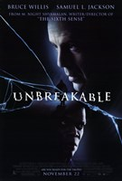Unbreakable movie poster Fine Art Print