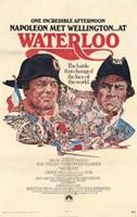 "Waterloo Napoleon Met Wellington - 11"" x 17"""