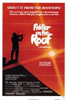 """Fiddler on the Roof - 11"""" x 17"""", FulcrumGallery.com brand"""