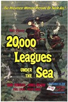 "20000 Leagues Under the Sea Movie, 2000 - 11"" x 17"""