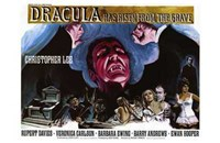 Dracula Has Risen from the Grave Christopher Lee Fine Art Print