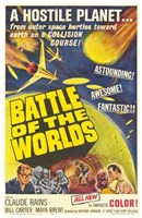 """Battle of the Worlds - 11"""" x 17"""""""