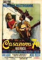 "Casanova '70 Poster - 11"" x 17"""