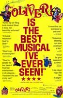 "Oliver Best Musical Ever - 11"" x 17"""