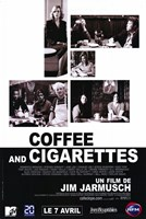 Coffee and Cigarettes Wall Poster