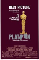 "Platoon 4 Academy Awards - 11"" x 17"""