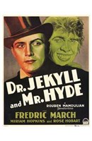 """Dr Jekyll and Mr Hyde March Hopkins - 11"""" x 17"""" - $15.49"""