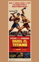 """Duel of the Titans - 11"""" x 17"""""""