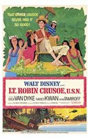 "Lt Robin Crusoe Usn - 11"" x 17"""