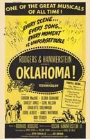 """Oklahoma Musical - 11"""" x 17"""""""