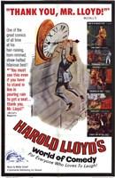"Harold Lloyd's World of Comedy - 11"" x 17"""