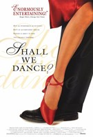 """Shall We Dance Red Shoes - 11"""" x 17"""""""