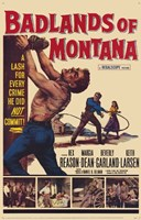 "Badlands of Montana - 11"" x 17"""
