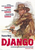 """Django - 11"""" x 17"""", FulcrumGallery.com brand"""