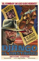 "Django the Bastard - 11"" x 17"" - $15.49"