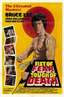 """Fist of Fear  Touch of Death - 11"""" x 17"""", FulcrumGallery.com brand"""