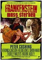 "Frankenstein Must Be Destroyed Peter Cushing - 11"" x 17"""