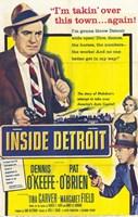 """Inside Detroit - 11"""" x 17"""""""